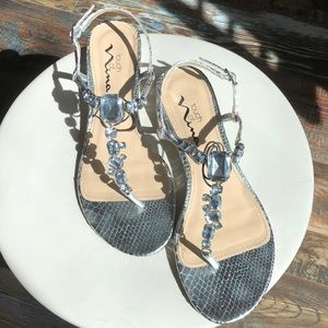 Nina Kiley Sandals Size 8